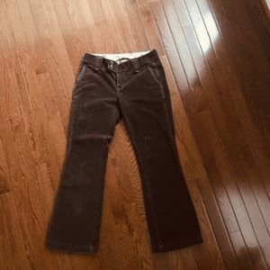 Brown Gap corduroy 2 ankle  length flared